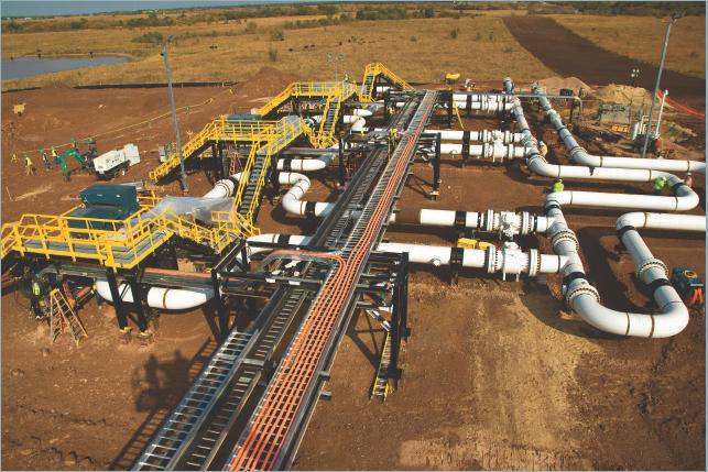 Keystone Pipeline Pump Stations