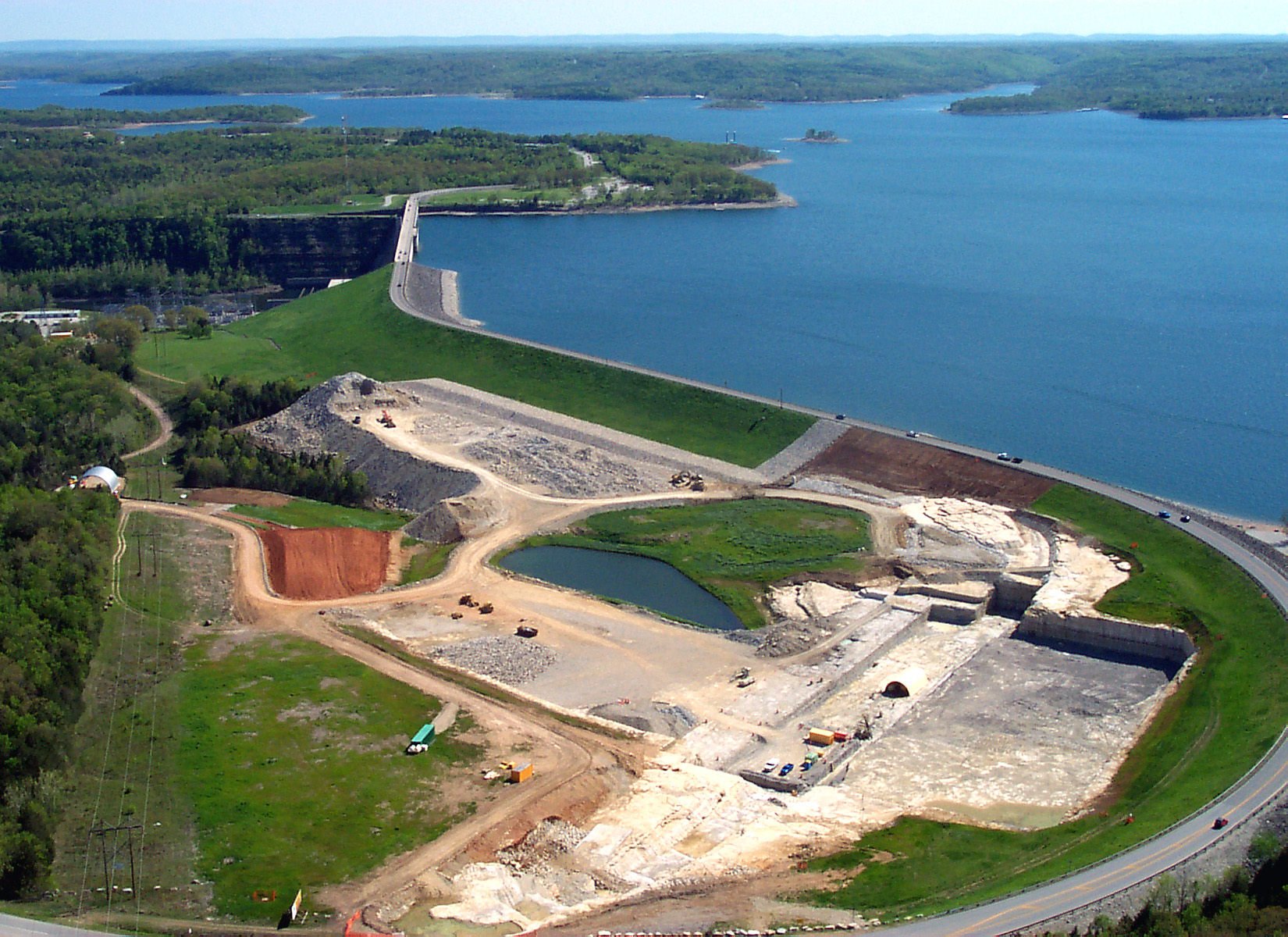Table Rock Auxillary Spillway Phase 1