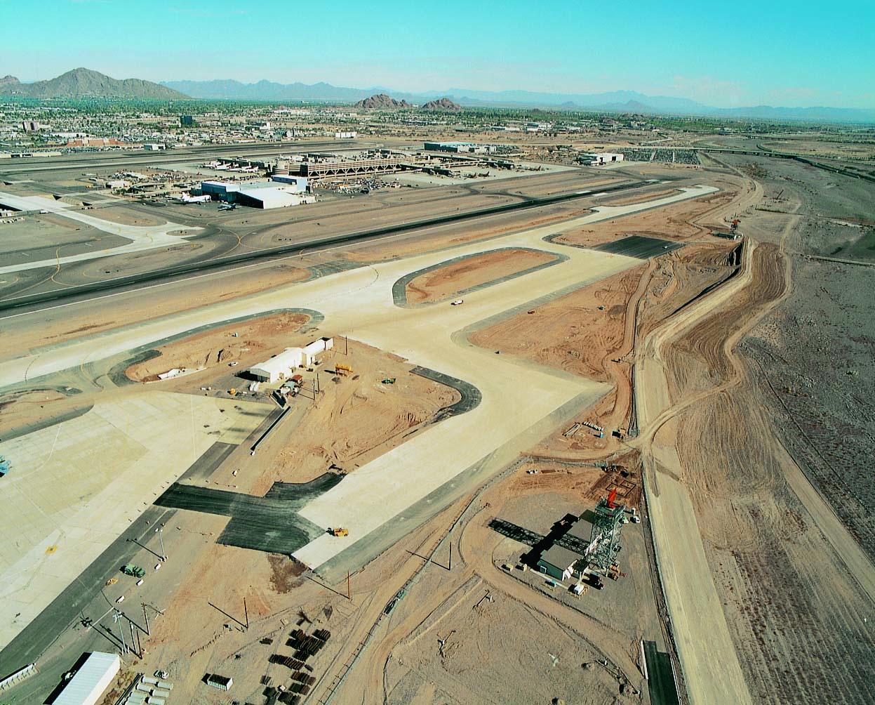 Phoenix Sky Harbor International Airport Third Runway