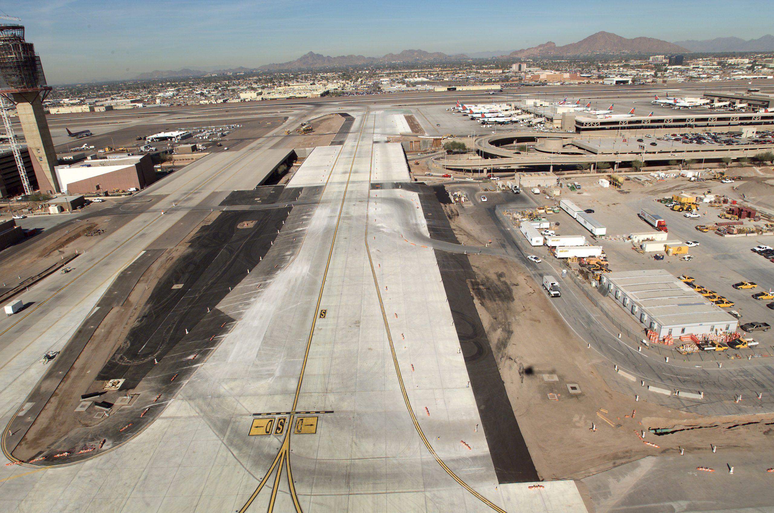 Phoenix Sky Harbor International Airport Taxiway S Reconstruction and Bridge