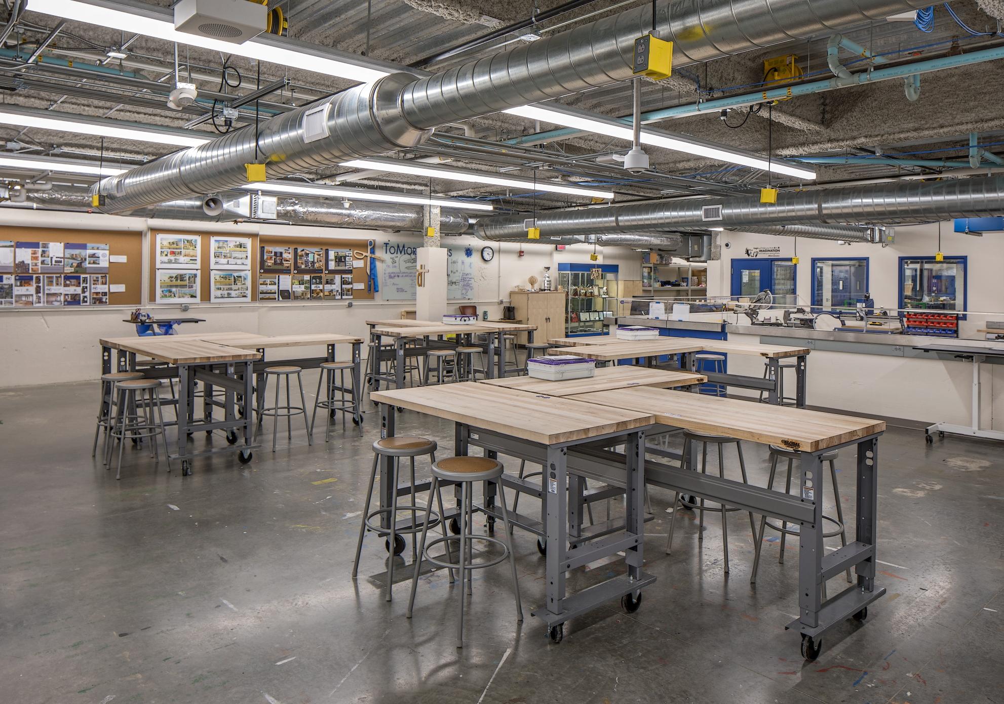 Creighton Preparatory High School STEM Laboratories